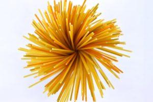 Spaghetti in a bunch