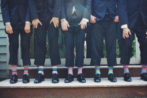 multi colored socks